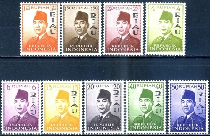 Индонезия (Архипелаг Риоу). Президент (серия)** 1960