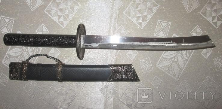 Самурайский меч катана сувенирная  47 см, фото №2