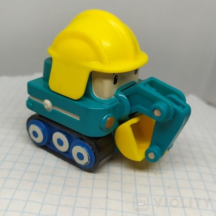 Машинка Экскаватор. тяжеленькая (9.20), фото №2