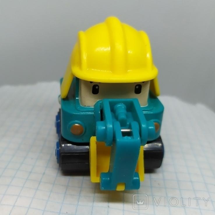 Машинка Экскаватор. тяжеленькая (9.20), фото №3