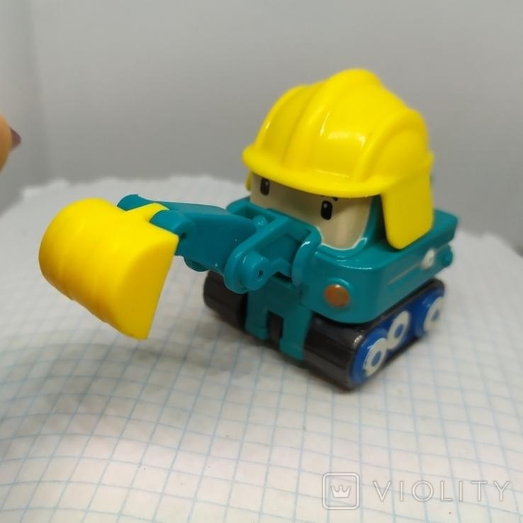 Машинка Экскаватор. тяжеленькая (9.20), фото №4