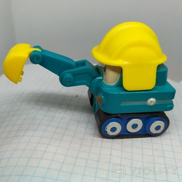 Машинка Экскаватор. тяжеленькая (9.20), фото №5