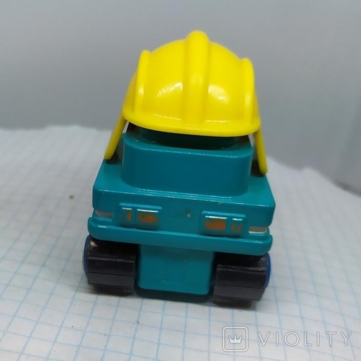 Машинка Экскаватор. тяжеленькая (9.20), фото №7