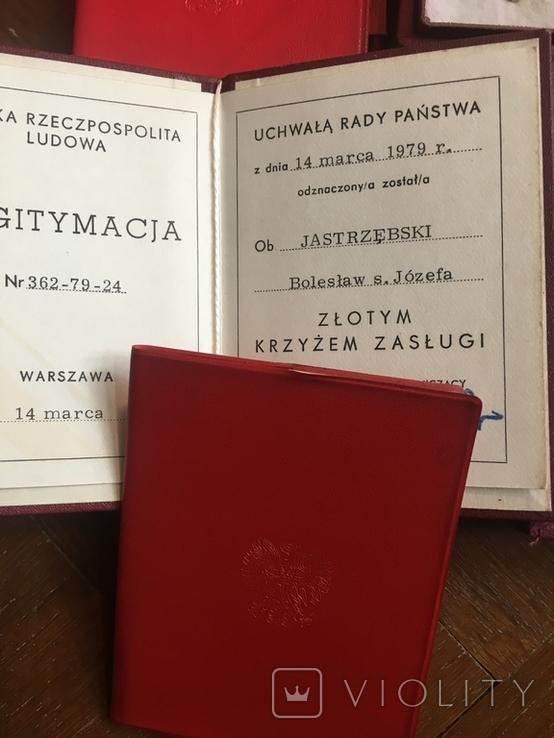 Комплект нагород з документами, фото №3