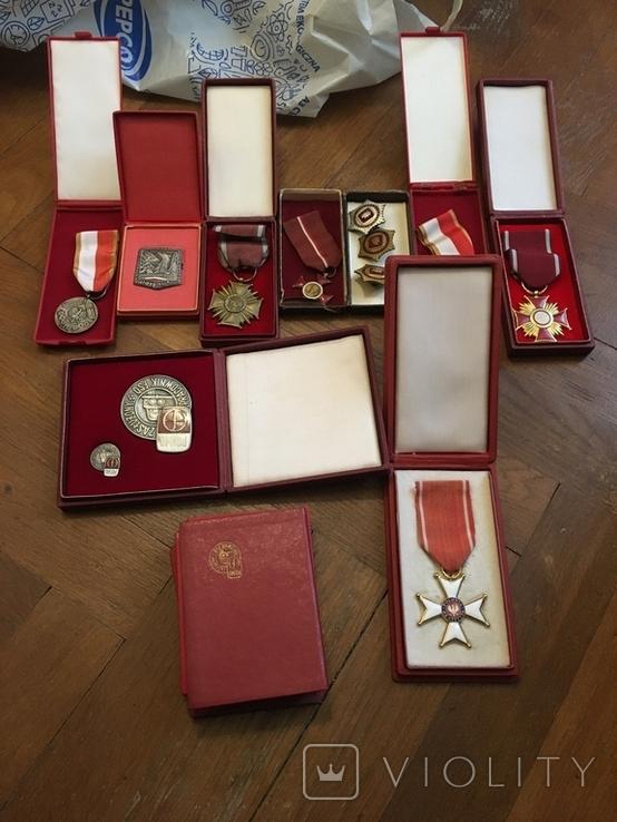 Комплект нагород з документами, фото №8