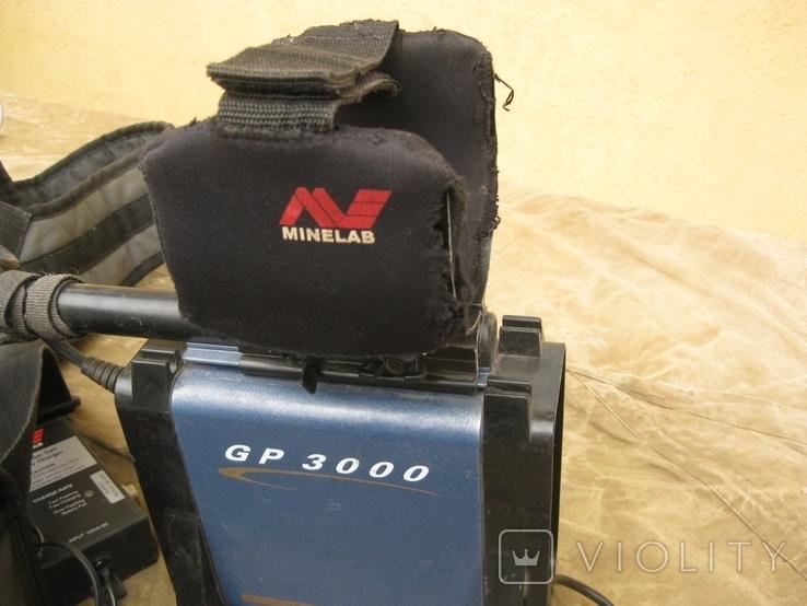 Металлоискатель MINELAB GP 3000 с дополнительной катушкой, фото №4