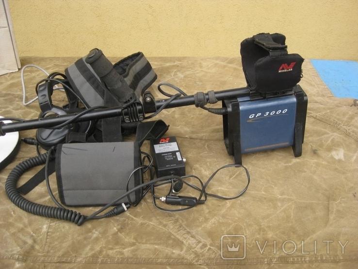 Металлоискатель MINELAB GP 3000 с дополнительной катушкой, фото №2