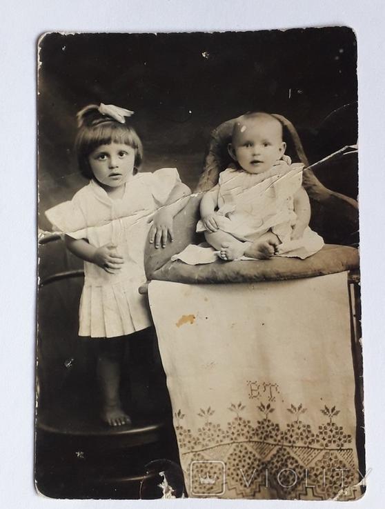 """Старинная детская фотография"""" (9*13)), фото №2"""