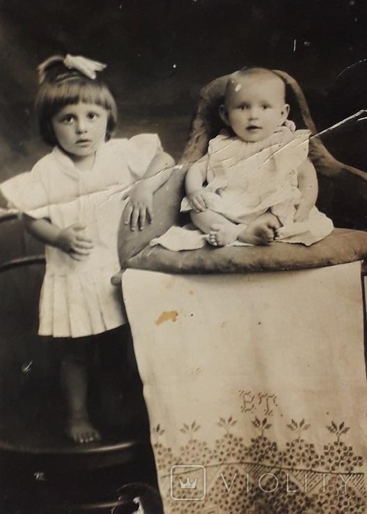 """Старинная детская фотография"""" (9*13)), фото №3"""