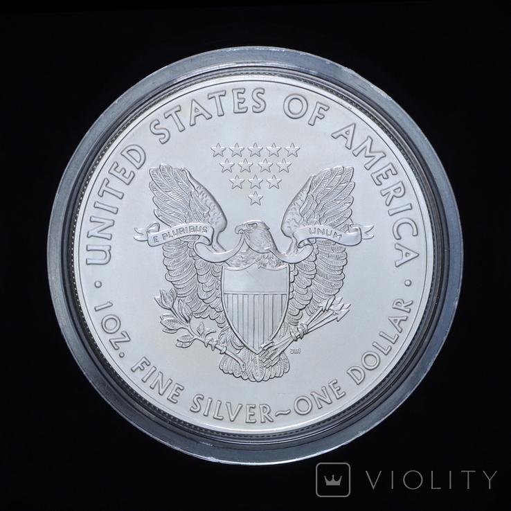 1 Доллар 2016 Христофор Колумб - Википедия Шагающая Свобода 1oz, США Унция, фото №3