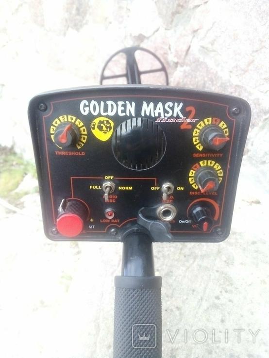 Металлоискатель Golden mask 2, фото №2
