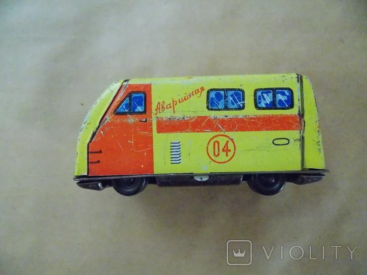 Машинка Аварийная служба 04  СССР, фото №2