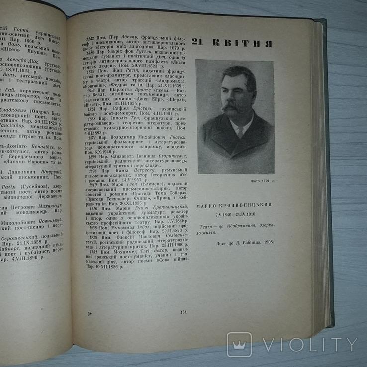 Літературний щоденник Київ 1966 Уложив Микола Терещенко, фото №12