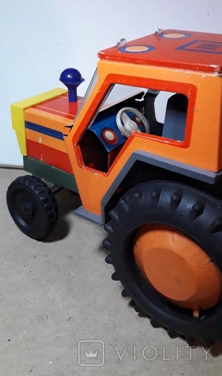 Железный Трактор Киевский з-д СССР длина 19 см., фото №3