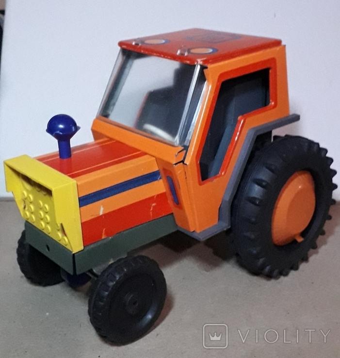 Железный Трактор Киевский з-д СССР длина 19 см., фото №4