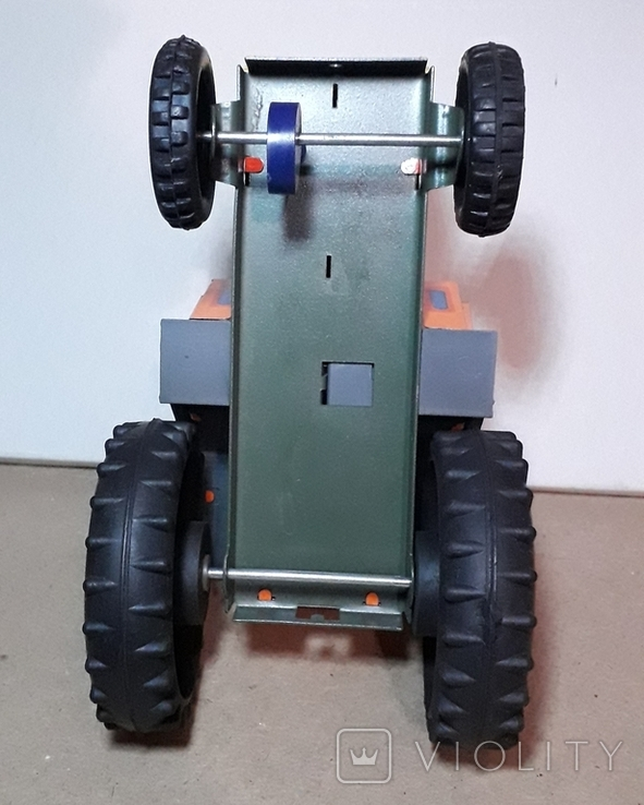Железный Трактор Киевский з-д СССР длина 19 см., фото №5