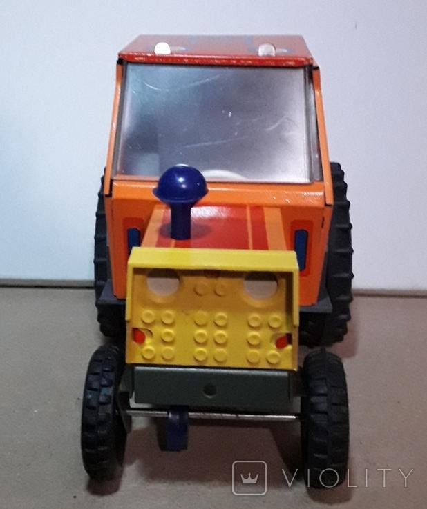 Железный Трактор Киевский з-д СССР длина 19 см., фото №9