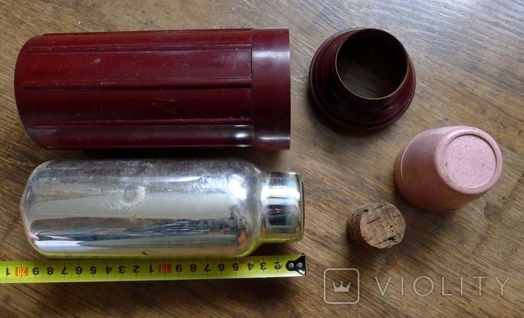 Старый бакелитовый термос., фото №6