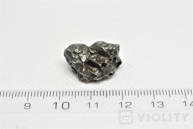 Залізний метеорит Campo del Cielo, 8,3 грам, із сертифікатом автентичності, фото №4