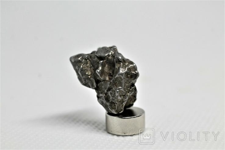 Залізний метеорит Campo del Cielo, 8,3 грам, із сертифікатом автентичності, фото №2