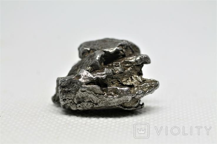 Залізний метеорит Campo del Cielo, 29,1 грам, із сертифікатом автентичності, фото №5