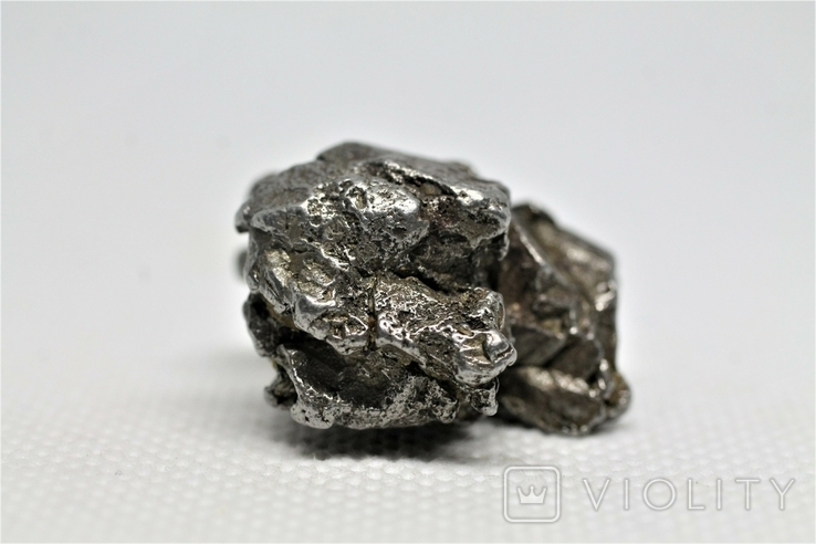 Залізний метеорит Campo del Cielo, 29,1 грам, із сертифікатом автентичності, фото №8