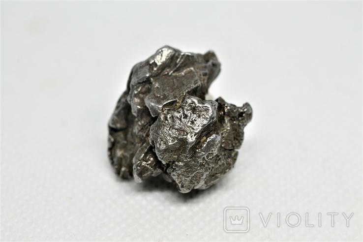 Залізний метеорит Campo del Cielo, 29,1 грам, із сертифікатом автентичності, фото №10