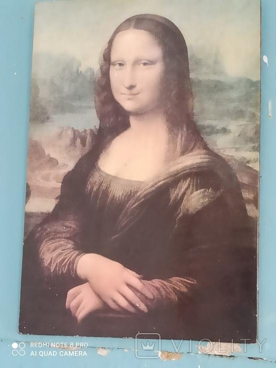 Картина. Мона Лиза. Леонардо да Винчи. репродукция, фото №3