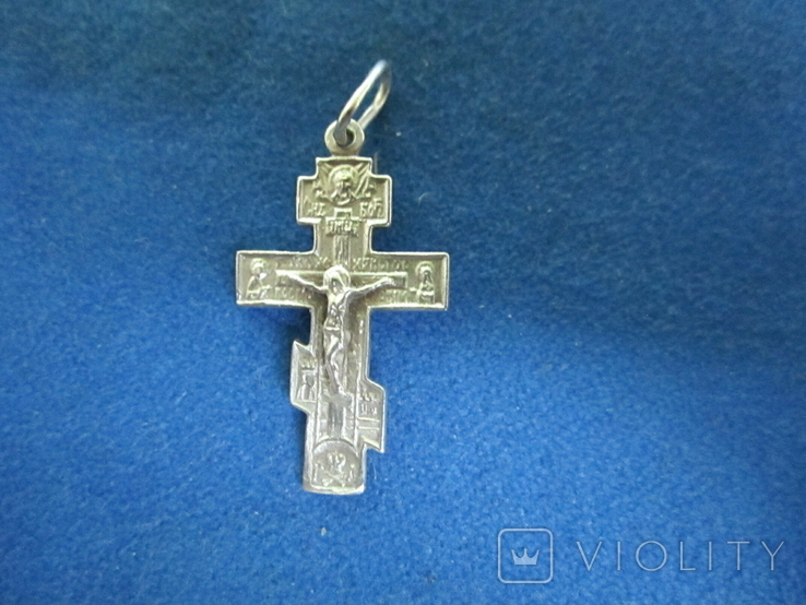Крестик серебро., фото №2