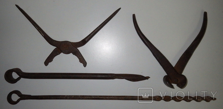 Инструмент старый, 4 ед., фото №3