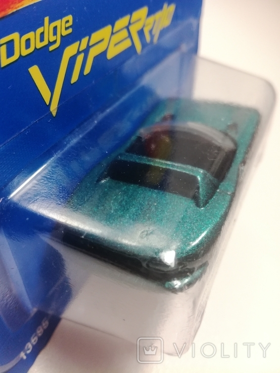 Hot Wheels Dodge Viper RT/10 (Gold Medal Speed) 1995 Malaysia, фото №4