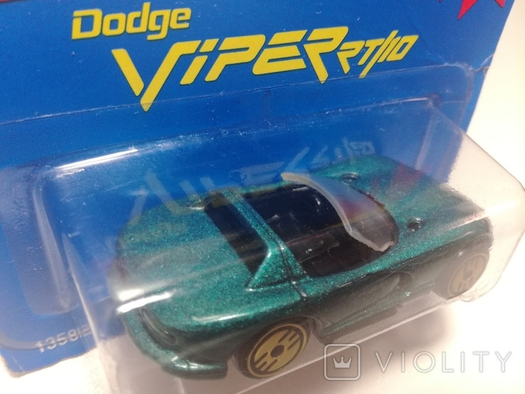 Hot Wheels Dodge Viper RT/10 (Gold Medal Speed) 1995 Malaysia, фото №9
