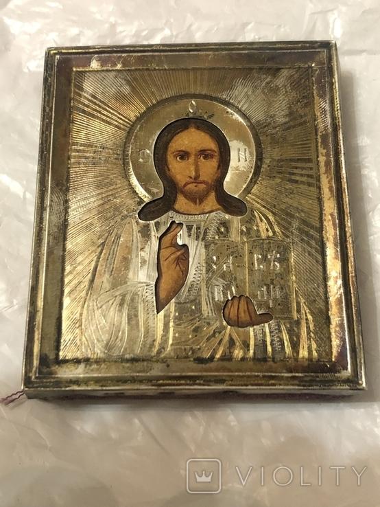 Господь Вседержитель , серебро 84, фото №8