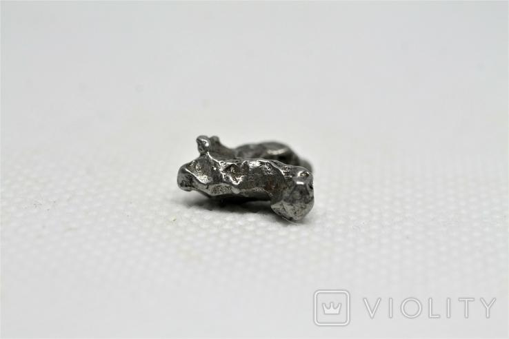 Залізний метеорит Campo del Cielo, 2,1 грам, із сертифікатом автентичності, фото №8