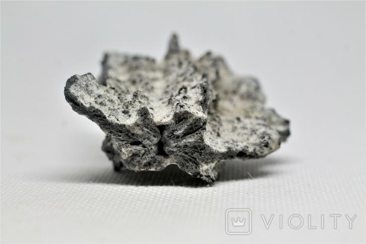 Фрагмент фульгурита, 27,8 грам, з серитфікатом автентичності, фото №7