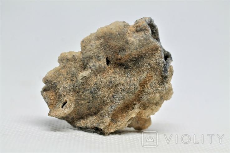 Фрагмент фульгурита, 3,8 грам, з серитфікатом автентичності, фото №2