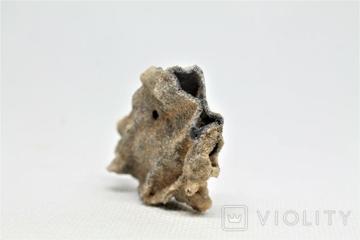 Фрагмент фульгурита, 3,8 грам, з серитфікатом автентичності, фото №6