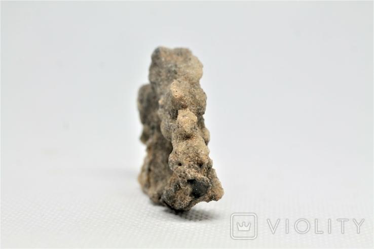Фрагмент фульгурита, 3,8 грам, з серитфікатом автентичності, фото №8