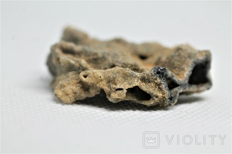 Фрагмент фульгурита, 3,8 грам, з серитфікатом автентичності, фото №11