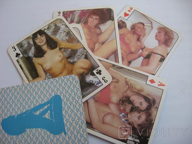 Карты с девушками ню 54 шт, фото №5