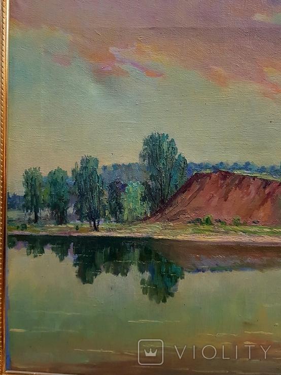 Картина маслом Руднев Н. 1960 год, фото №5