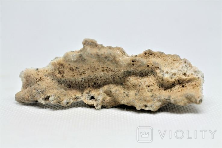 Фрагмент фульгурита, 10,1 грам, з серитфікатом автентичності, фото №5