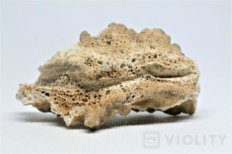 Фрагмент фульгурита, 10,1 грам, з серитфікатом автентичності, фото №2