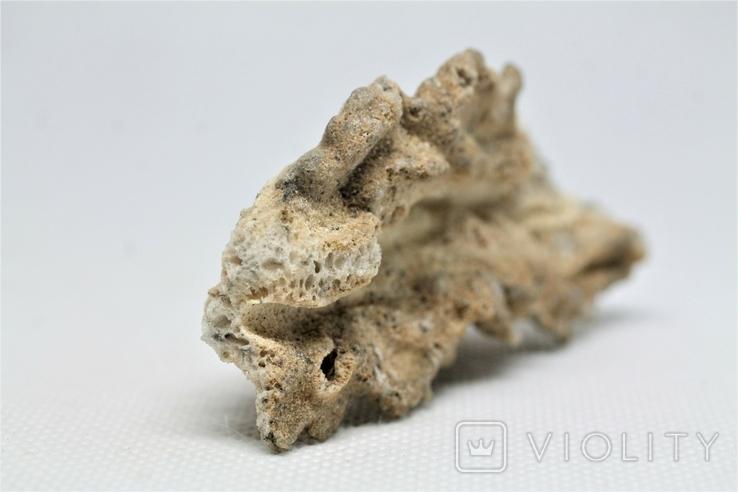 Фрагмент фульгурита, 10,1 грам, з серитфікатом автентичності, фото №9