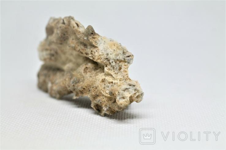 Фрагмент фульгурита, 10,1 грам, з серитфікатом автентичності, фото №10