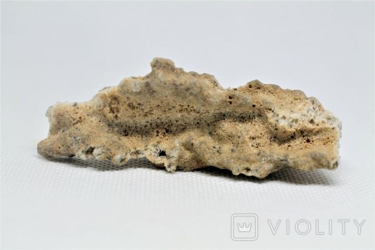 Фрагмент фульгурита, 10,1 грам, з серитфікатом автентичності, фото №12