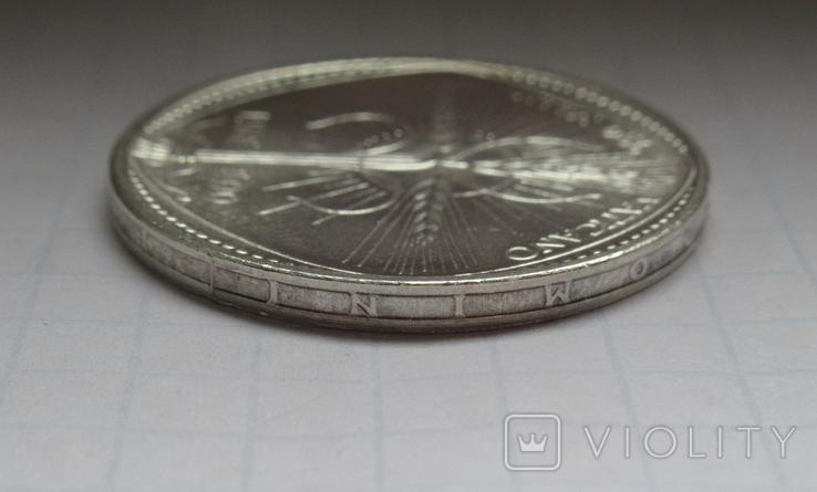 500 лир 1968 г. Ватикан, серебро, фото №11