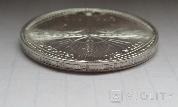 500 лир 1968 г. Ватикан, серебро, фото №12