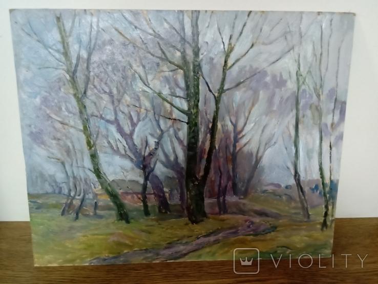 """Кошель Н. Я. """"Поздняя осень"""", 1984 г., фото №2"""