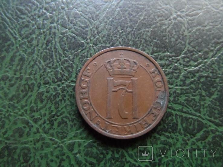 2 эре 1934 Норвегия, фото №3
